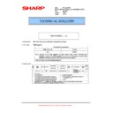 Sharp MX-M623U, MX-M753U (serv.man79) Technical Bulletin