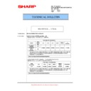 Sharp MX-M623U, MX-M753U (serv.man80) Technical Bulletin