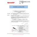 Sharp MX-M623U, MX-M753U (serv.man81) Technical Bulletin