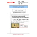 Sharp MX-M623U, MX-M753U (serv.man84) Technical Bulletin