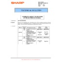 Sharp MX-M850 (serv.man100) Technical Bulletin