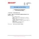 Sharp MX-M850 (serv.man101) Technical Bulletin
