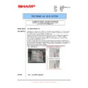 Sharp MX-M850 (serv.man102) Technical Bulletin