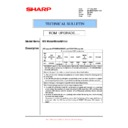Sharp MX-M850 (serv.man103) Technical Bulletin