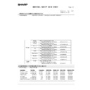 Sharp MX-M850 (serv.man107) Regulatory Data
