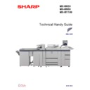 Sharp MX-M850 (serv.man3) Handy Guide