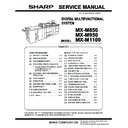 Sharp MX-M850 (serv.man30) Service Manual