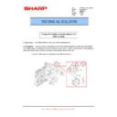Sharp MX-M850 (serv.man70) Technical Bulletin