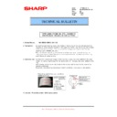 Sharp MX-M850 (serv.man73) Technical Bulletin