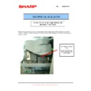 Sharp MX-M850 (serv.man77) Technical Bulletin