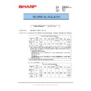 Sharp MX-M850 (serv.man78) Technical Bulletin