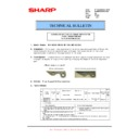 Sharp MX-M850 (serv.man80) Technical Bulletin