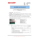 Sharp MX-M850 (serv.man81) Technical Bulletin