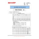 Sharp MX-M850 (serv.man83) Technical Bulletin