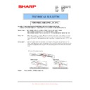 Sharp MX-M850 (serv.man84) Technical Bulletin