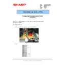 Sharp MX-M850 (serv.man85) Technical Bulletin
