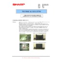Sharp MX-M850 (serv.man87) Technical Bulletin