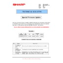 Sharp MX-M850 (serv.man88) Technical Bulletin