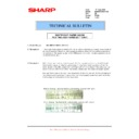 Sharp MX-M850 (serv.man89) Technical Bulletin