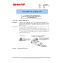 Sharp MX-M850 (serv.man90) Technical Bulletin