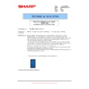 Sharp MX-M850 (serv.man92) Technical Bulletin