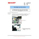 Sharp MX-M850 (serv.man93) Technical Bulletin