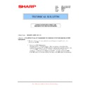 Sharp MX-M850 (serv.man94) Technical Bulletin