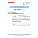 Sharp MX-M850 (serv.man96) Technical Bulletin