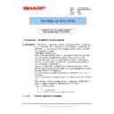 Sharp MX-M850 (serv.man99) Technical Bulletin