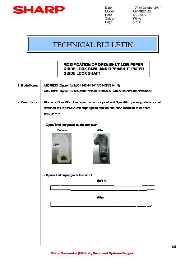 sharp mx rb20 service manual view online or download repair manual rh servlib com RB26DETT rb20det workshop manual
