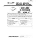 Sharp AN-L10T User Guide / Operation Manual