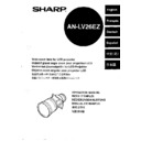 Sharp AN-LV26EZ (serv.man3) User Guide / Operation Manual