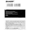 Sharp AN-LV55EZ (serv.man2) User Guide / Operation Manual
