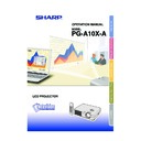 Sharp PG-A10X (serv.man26) User Guide / Operation Manual