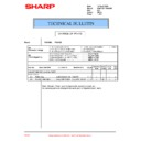 Sharp PG-A10X (serv.man38) Technical Bulletin