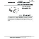 pg-a20x (serv.man2) specification