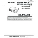 PG-A20X (serv.man3) Service Manual