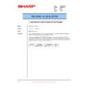 Sharp PG-M15 (serv.man12) Technical Bulletin