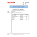 Sharp PG-M15 (serv.man15) Technical Bulletin