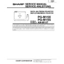 Sharp PG-M15 (serv.man2) Service Manual