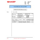 Sharp PG-M20X (serv.man30) Technical Bulletin