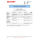 Sharp PG-M20X (serv.man31) Technical Bulletin