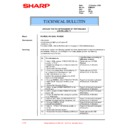 Sharp PG-M20X (serv.man32) Technical Bulletin