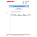 Sharp PG-M20X (serv.man33) Technical Bulletin