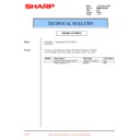 Sharp PG-M20X (serv.man34) Technical Bulletin