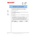 Sharp PG-M20X (serv.man35) Technical Bulletin