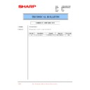 Sharp PG-M20X (serv.man37) Technical Bulletin