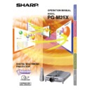 Sharp PG-M25XE (serv.man27) User Guide / Operation Manual