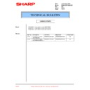 Sharp PG-M25XE (serv.man36) Technical Bulletin