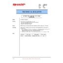 Sharp PG-M25XE (serv.man38) Technical Bulletin
